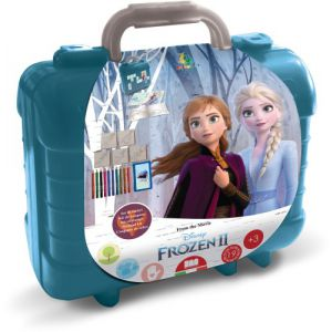 Frozen 2 kleur en stempelkoffer