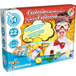 Explosie Fabriek Kaboom Science4You