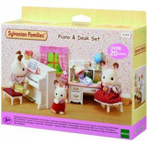 Sylvanian Families Piano & Bureau