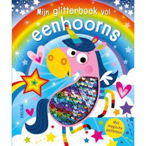 Glitterboek vol eenhoorns