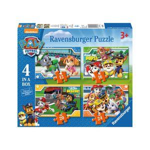 Puzzel paw patrol 4in1