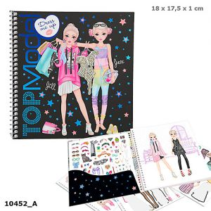 TOPModel Dress Me Up Stickerbook 10452