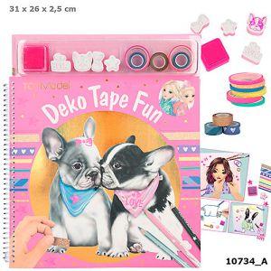 TOPModel kleurboek met masking tapes DOG
