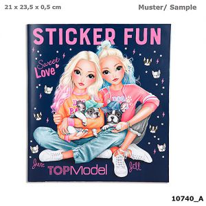 TOPModel stickerboek Frenchie DOG