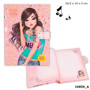 Topmodel dagboek met code 10859