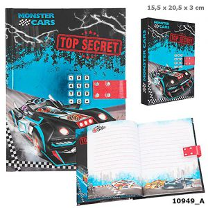 Dagboek met Code Monster Cars
