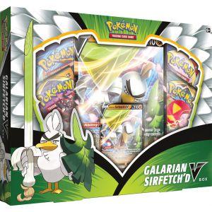 POK TCG Galarian Sirfetch'd V Box