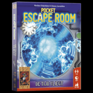 Escape room pocket: De Tijd Vliegt