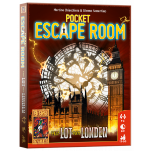 Escape Room pocket: het Lot van London