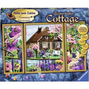 Schilderen op nummer Betoverende Cottage
