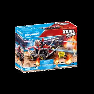 Playmobil Stuntshow 70554 brandweerkart