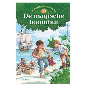 Boek de spannendste avonturen van de magische boomhut