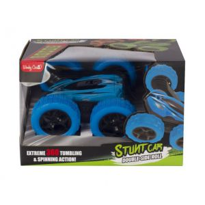 Wonky Cars 27 Mhz Stunt Car Blue