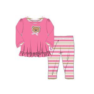 Dolly Moda Pyjama voor pop +- 43cm